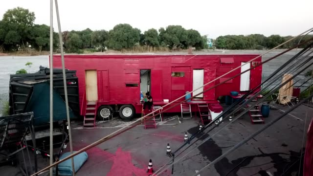 BRA: Circus Drive-In Performance in Itaguai Amidst the Coronavirus (COVID - 19) Pandemic