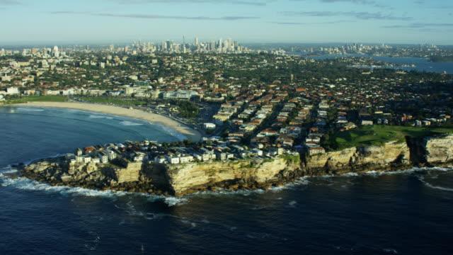 Aerial view of City of Sydney Australia