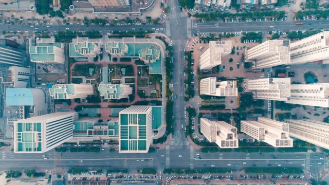 Luftbild der Stadt