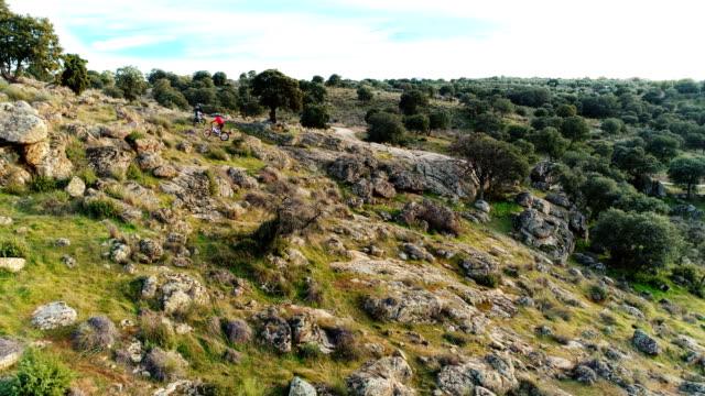 Aerial view of cityscape of Castilla La Mancha