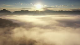 Aerial view of Cloud in Natural