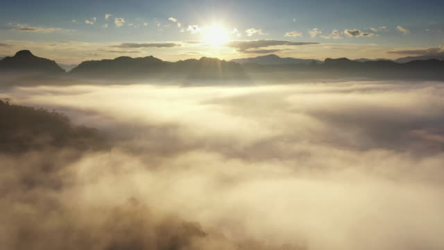 aerial view of cloud in natural - god stock videos & royalty-free footage