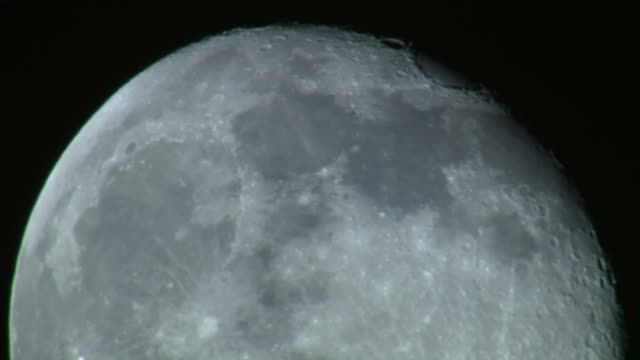 KTLA Aerial View of Clouds Passing Through Full Moon