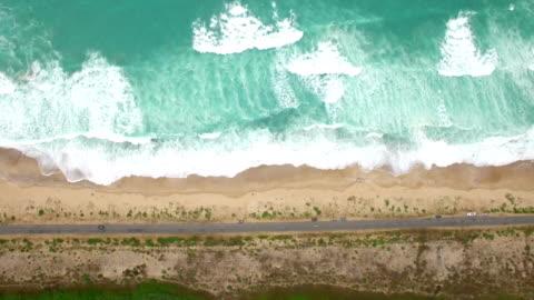 4k aerial view of coastline - south america stock videos & royalty-free footage