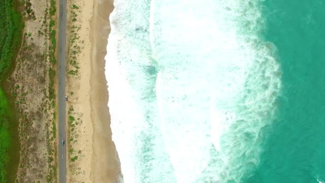 4K Luftbild der Küste