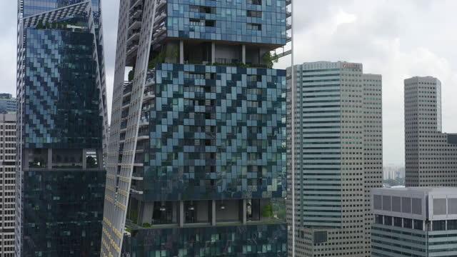 商業ビルの空中写真 - 最大点の映像素材/bロール