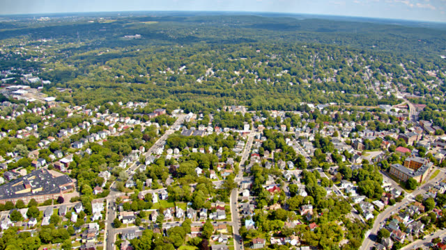 aerial view of country - massachusetts stock videos & royalty-free footage