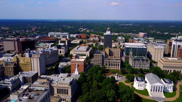 Aerial View of Diverse Richmond
