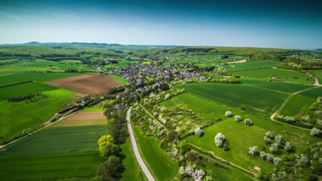 Aerial View Of Eifel Landscape