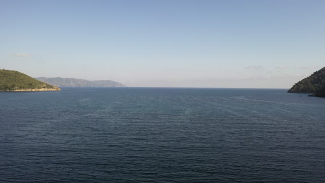 flygfoto över ekincik bays - sjö bildbanksvideor och videomaterial från bakom kulisserna