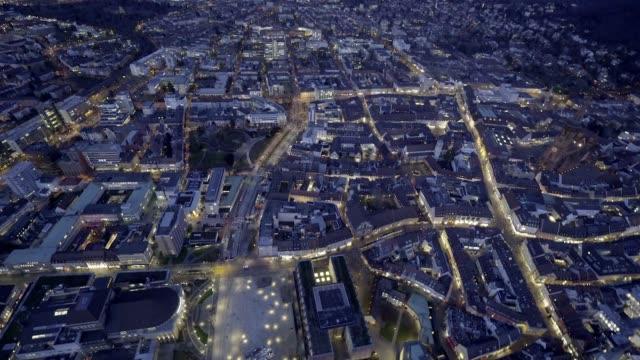 Luftaufnahme von Feiburg, Deutschland