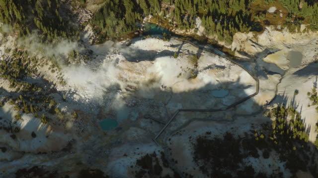 Aerial View Of Geothermal Area