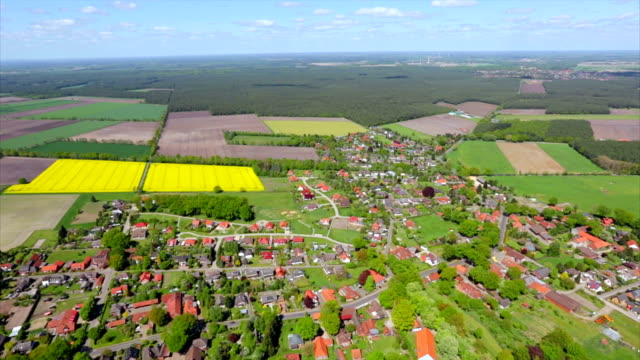 Luchtfoto van Duitsland stad Celle, Neder-Saksen