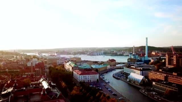 Luftaufnahme von Göteborg-Schweden