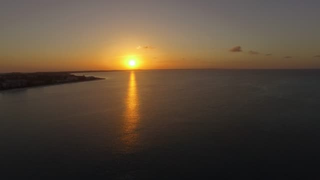 aerial view of grace bay, providenciales, turks and caicos - grace bay stock videos and b-roll footage