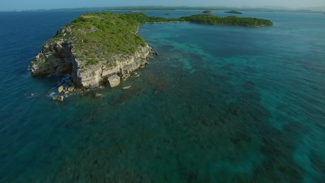 Aerial View Of Great Bird Island