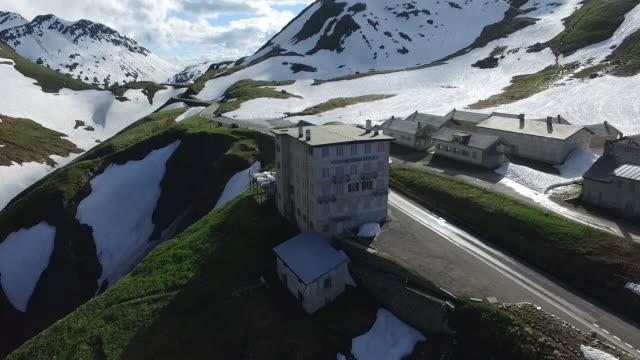 Aerial view of Grindelwald, Alps