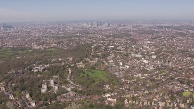 aerial view of groups breaking social distancing rules by skating in crystal palace park on 5 april 2020 in london, united kingdom - broken stock videos & royalty-free footage