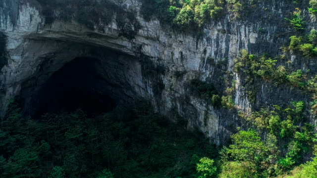 aerial view of guangxi - cave stock videos & royalty-free footage