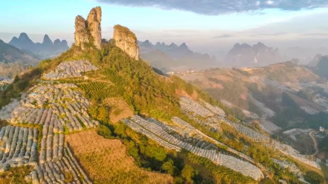 Luftaufnahme von Guilin