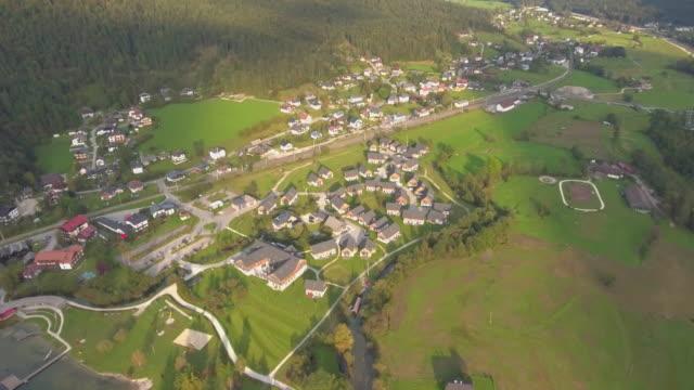 Aerial view of Hallstatt Village