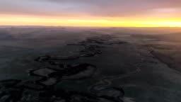Aerial View Of Inner Mongolia