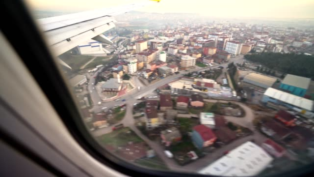 aerial view of istanbul from the porthole