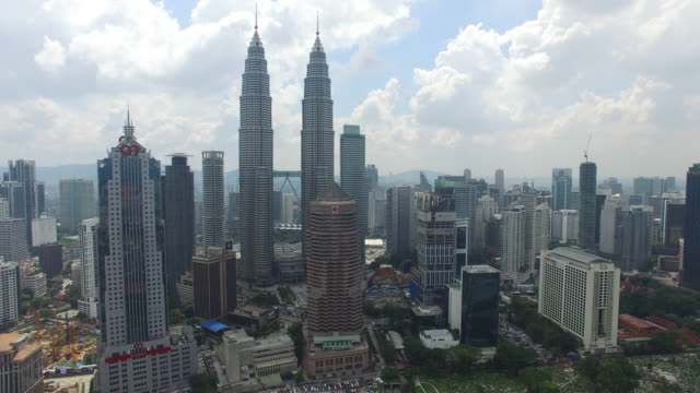 Aerial view of Kuala Lumpur city