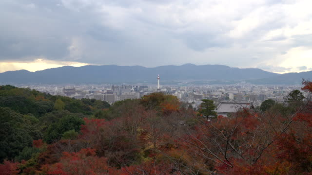 Aerial view of Kyoto City