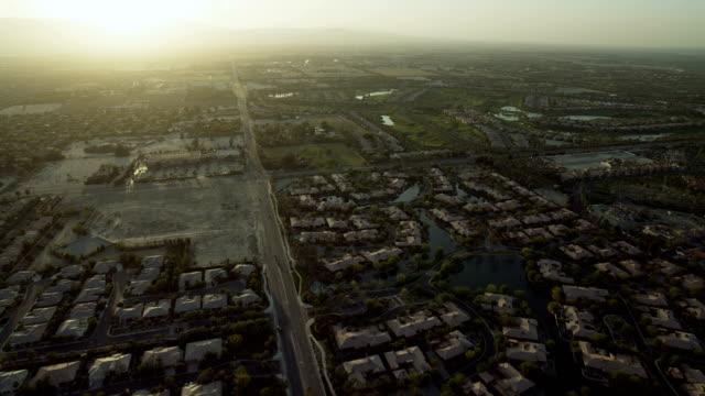 Aerial View Of La Quinta California