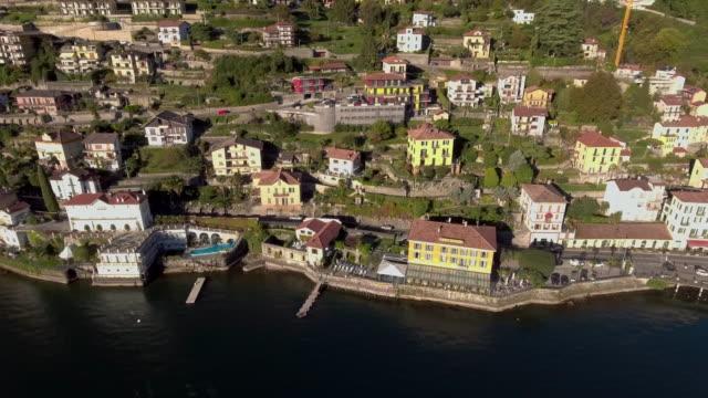 Luftaufnahme des Comer Sees