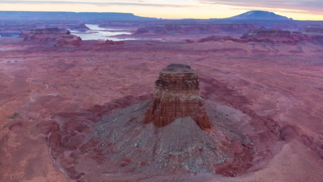 aerial view of lake powell - lake powell stock videos & royalty-free footage