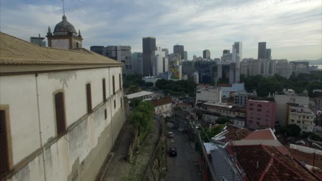 aerial view of lapa rio de janeiro - rio de janeiro stock videos & royalty-free footage