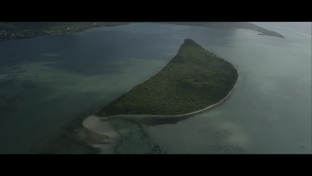 Aerial View of Île aux Bénitiers, Mauritius