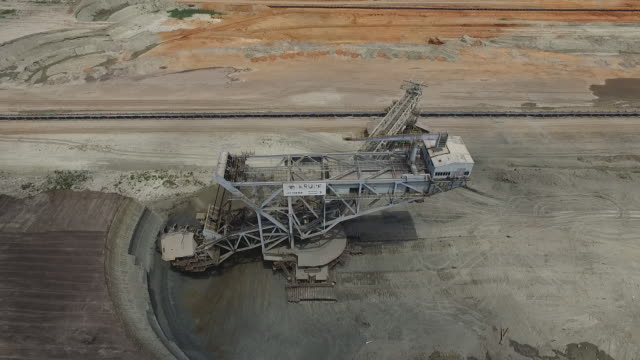 Aerial view of Lignite Mines