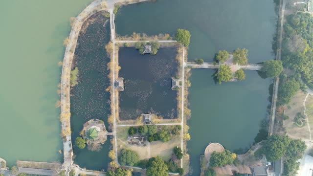 Aerial view of liyuan scenic spot