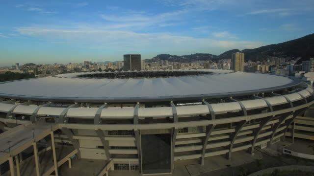Aerial view of Maracana stadium Rio De Janeiro