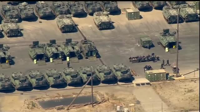 KSWB Aerial View of Marine Corps Base Camp Pendleton
