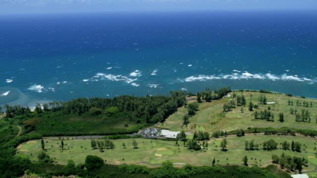 aerial view of maui and haleakala hawaii usa - hawaii inselgruppe stock-videos und b-roll-filmmaterial