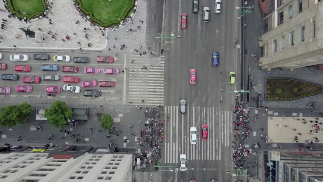 stockvideo's en b-roll-footage met luchtfoto van mexico city centre. - mexico stad