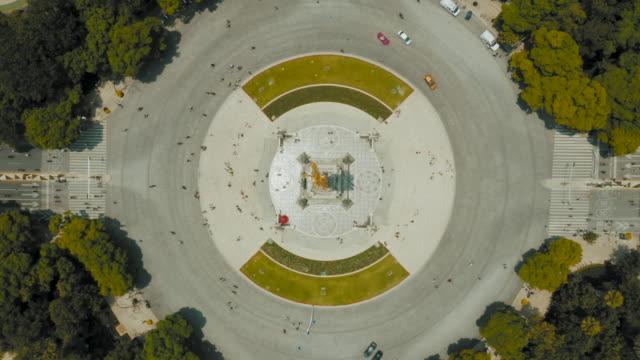 luftaufnahme von mexiko-stadt. paseo de la reforma - boulevard stock-videos und b-roll-filmmaterial