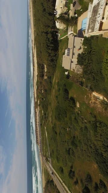 Aerial view of Modern Caesarea - high society neighbourhood