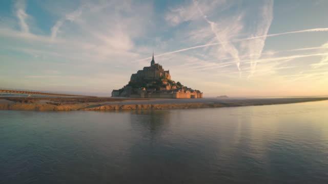 Luftaufnahme des Mont Saint Michel