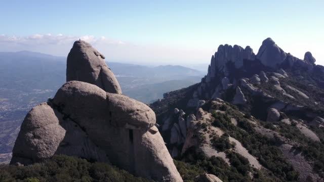 Aerial view of Montserrat