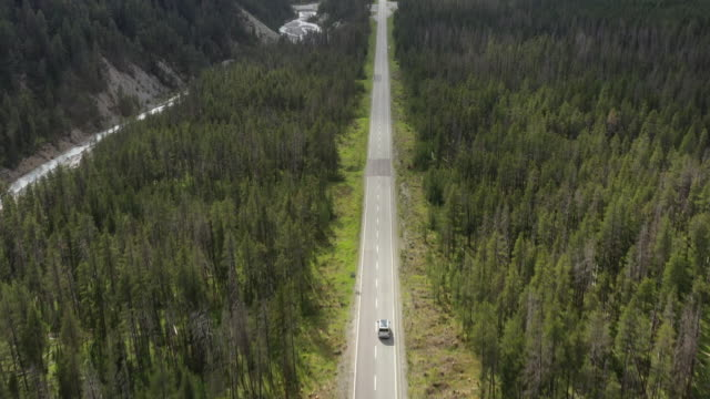 aerial view of mountain road in canton grisons, switzerland - parc national stock videos & royalty-free footage