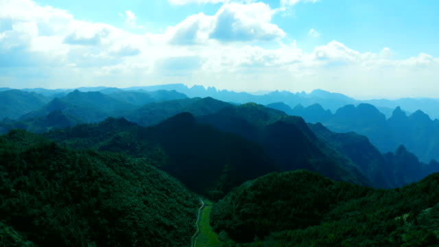 aerial view of mountains and forest - guyana stock videos & royalty-free footage