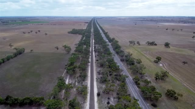 aerial view of murray bridge - town stock videos & royalty-free footage