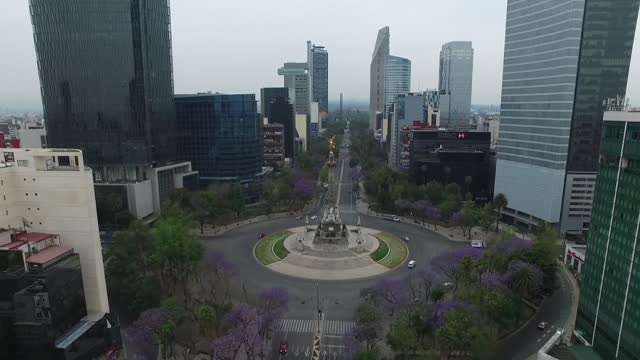 aerial view of méxico on november 28, 2017 méxico, méxico. mexico, officially the united mexican states is a country in the southern portion of north... - general view stock videos & royalty-free footage