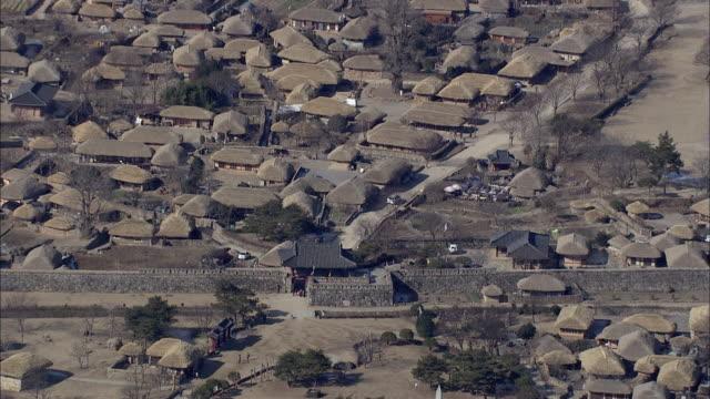 Aerial View of Naganeupseong Folk Village