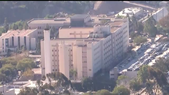 kswb aerial view of naval medical center san diego - bethesda maryland stock videos & royalty-free footage
